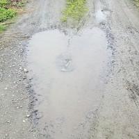 630 雨上がりの農道